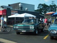 Plymouth looking gorgeous at Woodward Dream Cruise 2015