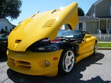 Dodge Viper in yellow!