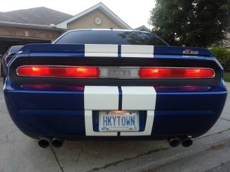 440 Hurst Challenger with 1970 tail lights.